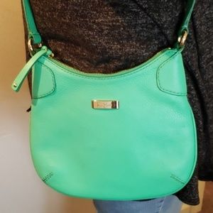 Cole Haan Kelly Green Crossbody Bag